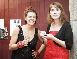 Festival founders Rebecca Thomson and Briony Kidd